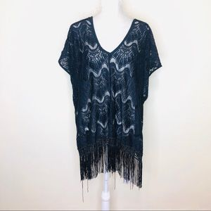 Victoria's Secret Black Swim Coverup